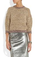 Etoile Isabel Marant Maverick Cotton-blend Sweater - Lyst