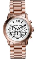 Michael Kors Cooper Rose Goldtone Chronograph Watch - Lyst
