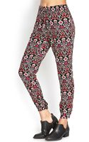 Forever 21 Baroque Print Joggers - Lyst