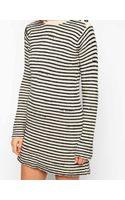 Zadig & Voltaire Zadig and Voltaire Knitted Dress in Stripe - Lyst