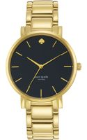 Kate Spade New York Womens Gramercy Grand Goldtone Stainless Steel Bracelet Watch 38mm - Lyst