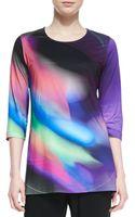 Caroline Rose Cosmic Print Jersey Tunic - Lyst