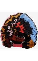 Missoni Mare Multi Color Zig Zag Knit Turban - Lyst