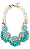 Banana Republic Catalina Flutter Necklace Turquoise - Lyst