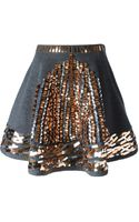 Kenzo Embellished A-line Skirt - Lyst