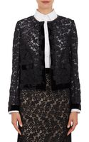 Erdem Floral Lace Cropped Victoria Jacket - Lyst