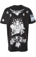 Givenchy Skull Print T-Shirt - Lyst