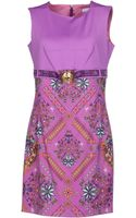 Versace Short Dress - Lyst