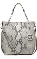 Michael Kors Michael Jet Set Medium Chain Shoulder Tote - Lyst