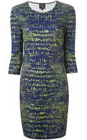 McQ by Alexander McQueen Snakeskin Print Dress - Lyst