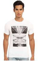 Armani Jeans Milan Graphic Tee - Lyst