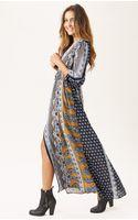 Novella Royale Midnight Alley Maxi Dress - Lyst