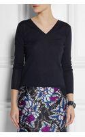 Miu Miu Cashmere and Silk Blend Sweater - Lyst