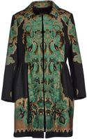 RED Valentino Coat - Lyst