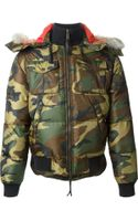 DSquared2 Camouflage Jacket - Lyst