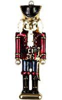 Jones New York Goldtone Nutcracker Pin - Lyst