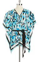 MICHAEL Michael Kors V Neckline Kimono Top - Lyst