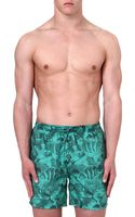 Hugo Boss Piranha Print Swim Shorts - Lyst