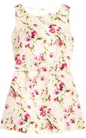 RED Valentino Sweetpea Floral Tunic Top - Lyst