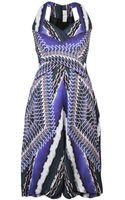 Peter Pilotto Sleeveless Printed Dress - Lyst