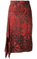 Vivienne Westwood Anglomania Solstice Skirt - Lyst