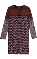 Missoni Lurex Long Cardigan - Lyst