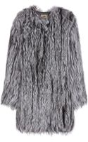 The Row Tasos Fur Coat - Lyst