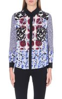 Peter Pilotto Sphere-print Silk Shirt - Lyst