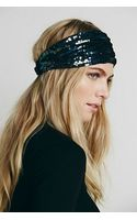 Free People Sequin Mesh Headband - Lyst