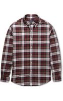 Polo Ralph Lauren Button-down Collar Checked Cotton Oxford Shirt - Lyst