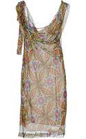 Philosophy di Alberta Ferretti Knee=length Dress - Lyst