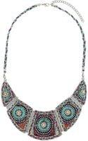 Topshop Plaited Thread Necklace - Lyst