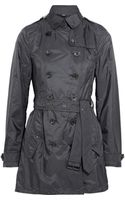 Burberry Brit Shell Trench Coat - Lyst