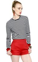 DSquared2 Striped Cotton Sweater - Lyst