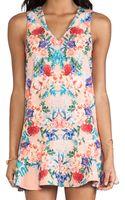 Keepsake Strangers Dress in Botanical Peach Print - Lyst