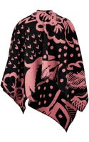 Burberry Shoes & Accessories Wool Cashmere Poncho - Lyst
