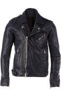 Balmain Classic Biker Jacket - Lyst