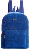 Rampage Animal Printed Suede Backpack - Lyst