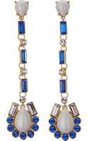 Kate Spade Sunrise Cluster Linear Drop Earrings - Lyst