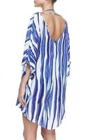 Vix Baoba Karen Striped Caftan Coverup - Lyst