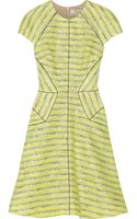 Lela Rose Cottonblend Tweed Dress - Lyst