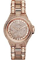 Michael Kors Camille Rose Gold-toned Watch - Lyst