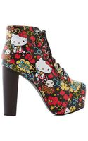 Jeffrey Campbell Make Mine A La Mode Bootie - Lyst