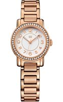 Tommy Hilfiger Womens Rose Gold Ion-plated Stainless Steel Bracelet Watch 28mm - Lyst
