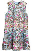 Cynthia Rowley Bonded Drop Waist Dress - Lyst