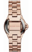 Michael Kors Mini Rose Golden Stainless Steel Camille Three-hand Glitz Watch - Lyst