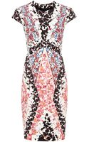 Peter Pilotto Hs Printed Crepejersey Dress - Lyst