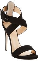 Barneys New York Crisscross-strap Sandals - Lyst