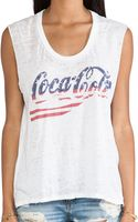 Chaser Cocacola Stars and Stripes Tee - Lyst