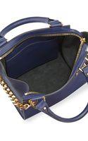 Sophie Hulme Mini Chain Leather Shopper Bag - Lyst